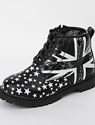 Spring / Fall / Winter Boy's Boots Leather Outdoor / Casual Lace-up