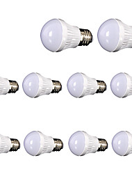 10pcs NEW LED Bulb E27 5W LED Lamp 85-265V SMD2835 LED Light Global Bulbs Energy Saving Lampada LED Lights Lighting dimmable