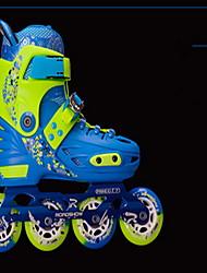 Inline-Skates Kinder Luftdurchlässig im Freien PVC Leder