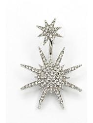 Women's Stud Earrings Fashion Galaxy Costume Jewelry Cubic Zirconia Rhinestone Star Jewelry For Wedding Party Birthday Daily Casual