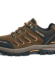 Sneakers Unisex Anti-Slip Wearable Outdoor Low-Top Breathable Mesh Nubuck leather Climbing