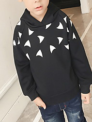 Boy Casual/Daily Polka Dot Hoodie & Sweatshirt,Cotton Winter / Fall Long Sleeve Short