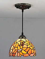 25W Pendant Light ,  Traditional/Classic / Vintage Painting Feature for Mini Style Metal Bedroom / Entry
