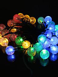 2m Warm / blau / gelb / kühle weiße 20-LED-String-Licht (12V)