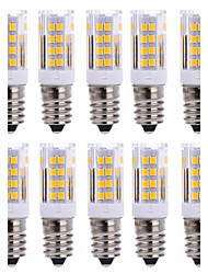 10Pcs A Fil   E14 51Led Smd2835 5w  850Lm AC220   White Warm Natural White Small Céramique maïs Lampe