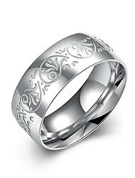 Ringe Others Einzigartiges Design Modisch Normal Sport Schmuck Edelstahl Herren Ring 1 Stück,7 8 9 10 Silber
