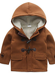 Boy Casual/Daily / Sports Solid Jacket & Coat,Cotton / Rayon Winter Long Sleeve