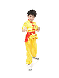 Cosplay Costumes Festival/Holiday Halloween Costumes White Blue Yellow Solid Top Pants Belt Kid