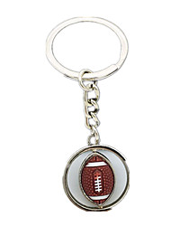 Key Chain Rugby Metal Boys' Girls'