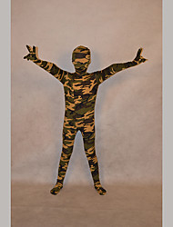 Festival/Holiday Costumes Camouflage Print Zentai Kid Lycra Fully Covered