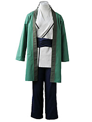 Inspiré par Naruto Cosplay Anime Costumes de cosplay Costumes Cosplay Couleur Pleine Veste Kimono / Veste / Shorts / Ceinture