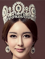 Women's Alloy Headpiece-Wedding Special Occasion Tiaras 1 Piece