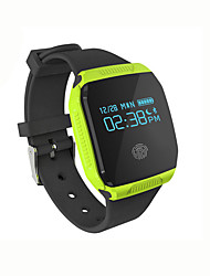 E077S Smart BraceletWater Resistant/Waterproof Long Standby Calories Burned Pedometers Exercise Log Health Care Sports Alarm Clock