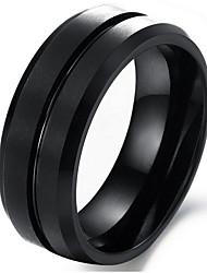 Ringe Party / Alltag / Normal Schmuck Herren Ring 1 Stück,Eine Größe Schwarz