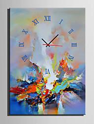 Moderne/Contemporain Autres Horloge murale,Rectangulaire Toile35 x 50cm(14inchx20inch)x1pcs/ 40 x 60cm(16inchx24inch)x1pcs/ 50 x