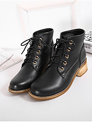 Women's Boots Others PU Casual Black / Brown