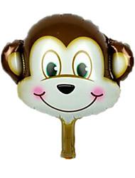Balões Decoração Para Festas Animal alumínio Marrom Para Meninos / Para Meninas 5 a 7 Anos