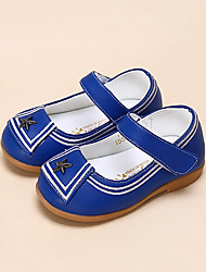 Girl's Flats Comfort Leatherette Casual Black Blue White