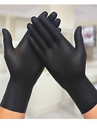 One Pack One Hundred Labor Protection Gloves  Rubber Oil Inspection Gloves Latex Gloves