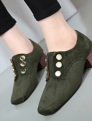 MujerOthers-Tacones-Casual-Ante-Negro / Beige