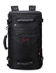55 L Tourenrucksäcke/Rucksack Wasserdicht / tragbar / Atmungsaktiv Schwarz