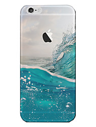 Para iPhone 8 iPhone 8 Plus iPhone 7 iPhone 6 Funda iPhone 5 Carcasa Funda Traslúcido Cubierta Trasera Funda Paisaje Suave TPU para Apple