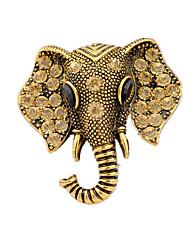 ouro 1pc liga broches das mulheres
