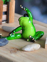Animal Decorative Figurines Crafts Creative Furnishing Articles Miniature Resin Frog Animal Decorative Figurines