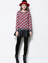 Damen Hose - Einfach Enger Schnitt Baumwolle / Polyester Dehnbar