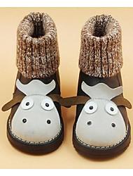 Girl's Boots Comfort Microfibre Casual Black
