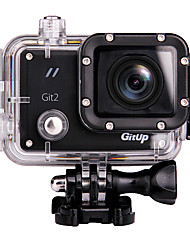 Gitup Git2 Sports Action Camera 12MP / 8MP / 3MP / 5MP / 16MP 1920 x 1080 WiFi / USB / G-Sensor / Wide Angle 1.5 64 GB H.264 30 MDiving &