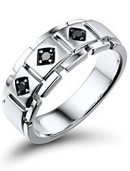 Ringe Alltag Schmuck Herren Ring 1 Stück,10 / 9½ / 10½ / 10¼ Silber