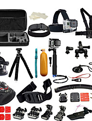 Accessories For GoProChest Harness / Front Mounting / Anti-Fog Insert / Monopod / Tripod / Suction Cup / Adhesive Mounts / Wrist Strap /