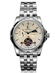 Men's Fashion Watch / Wrist watch / Mechanical Watch Automatic self-winding Water Resistant/Water Proof / Noctilucent / Moon Phase