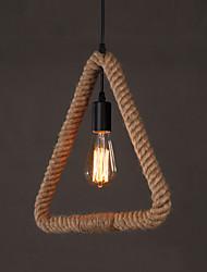 Max 60W Lampe suspendue ,  Traditionnel/Classique / Vintage / Rétro Peintures Fonctionnalité for Designers MétalSalle de séjour / Chambre