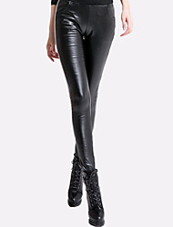 Women's Solid Black Skinny Pants,Thigh Slimmers Winter