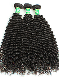 100% Brazilian Afro Curly Human Hair Weaving Top Quality Brazilian Kinky Curly Remy Hair Extension