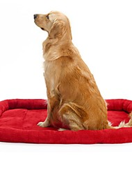Dog Bed Pet Blankets Red / Blue Cotton
