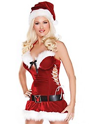 Sexy Christmas Costumes For women Adult Miss Santa Cosplay for Christmas Holiday party father christmas costumes