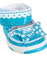 Cães Sapatos e Botas Casual Inverno / Primavera/Outono Bolinhas Tecido