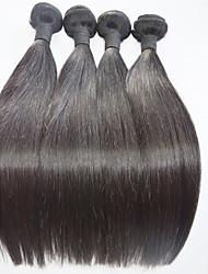 Human Hair Weaves Brazilian Virgin Hair 4pieces/lot Hair Extension For Women