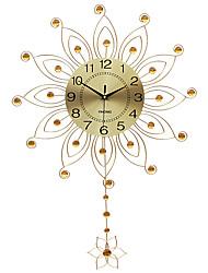 Moderne/Contemporain Niches Horloge murale,Autres Acrylique / Verre / Métal 55*82CM Intérieur Horloge