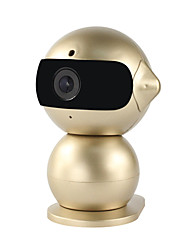 yanse® 1.3MP Roboter Mini Nachtsicht-Baby-Monitor hd wifi Innen nett IP-Kamera (Remote-Zugriff / Plug and Play)