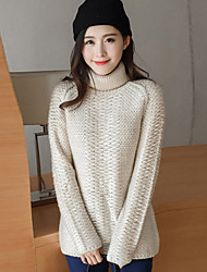Sign thick high-necked sweater female hedging sweater Korean wave of autumn and winter warmth students bottoming shirt
