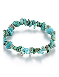 Women's Chain Bracelet Costume Jewelry Crystal Turquoise Irregular Jewelry For Birthday Gift Daily