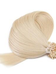 """neitsi 20 """"1g / s 50g queratina u fusão ponta do prego retas ombre extensões de cabelo humano 613 #"""