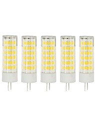 5Pcs A Fil Others G4 75Led Smd2835 7w  1000Lm AC220  White Warm White Small Ceramic Corn Lamp Blanc