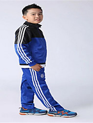 Sports Kid's Long Sleeve Soccer Clothing Sets/Suits Waterproof / Breathable / Thermal / Warm / Quick Dry / Windproof / Front ZipperLake