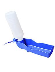 Cat / Dog Bowls & Water Bottles Pet Bowls & Feeding Waterproof / Casual/Daily Blue Plastic