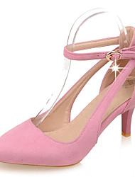 Women's Sandals Summer Heels / Sandals / Pointed Toe /   Casual Stiletto Heel Buckle / OthersBlack / Pink /